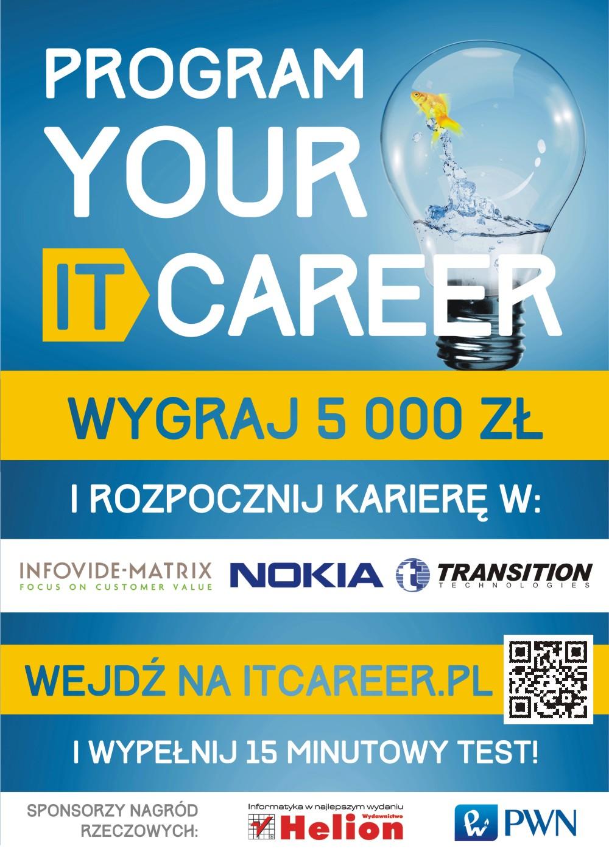 plakat IT Career